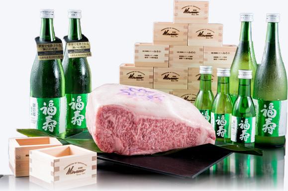 Partnership with Fuchou, the high quality Japanese sake