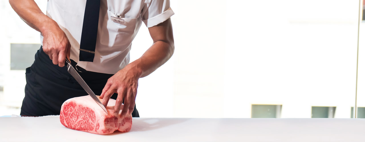 對肉的堅持 從和牛中精挑細選 最能突顯美味的「MISONO特選和牛」