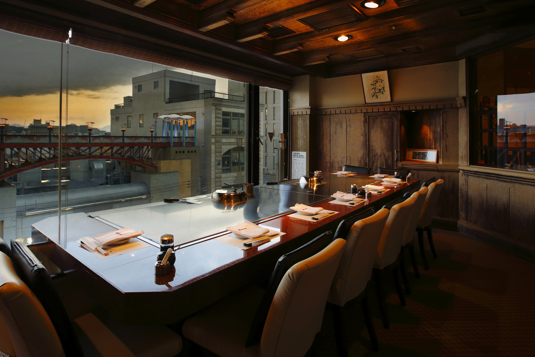 Misono restaurants Enjoy the taste of Misono's original teppanyaki Kobe beef steak in our restaurant located in the ancient city of Kyoto.