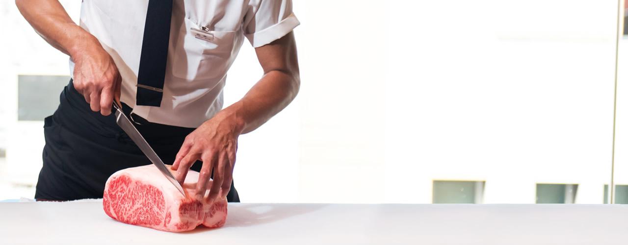 고기에 대한 고집 와규 중에서 엄선한 맛이 돋보이는 '미소노 특선 와규'