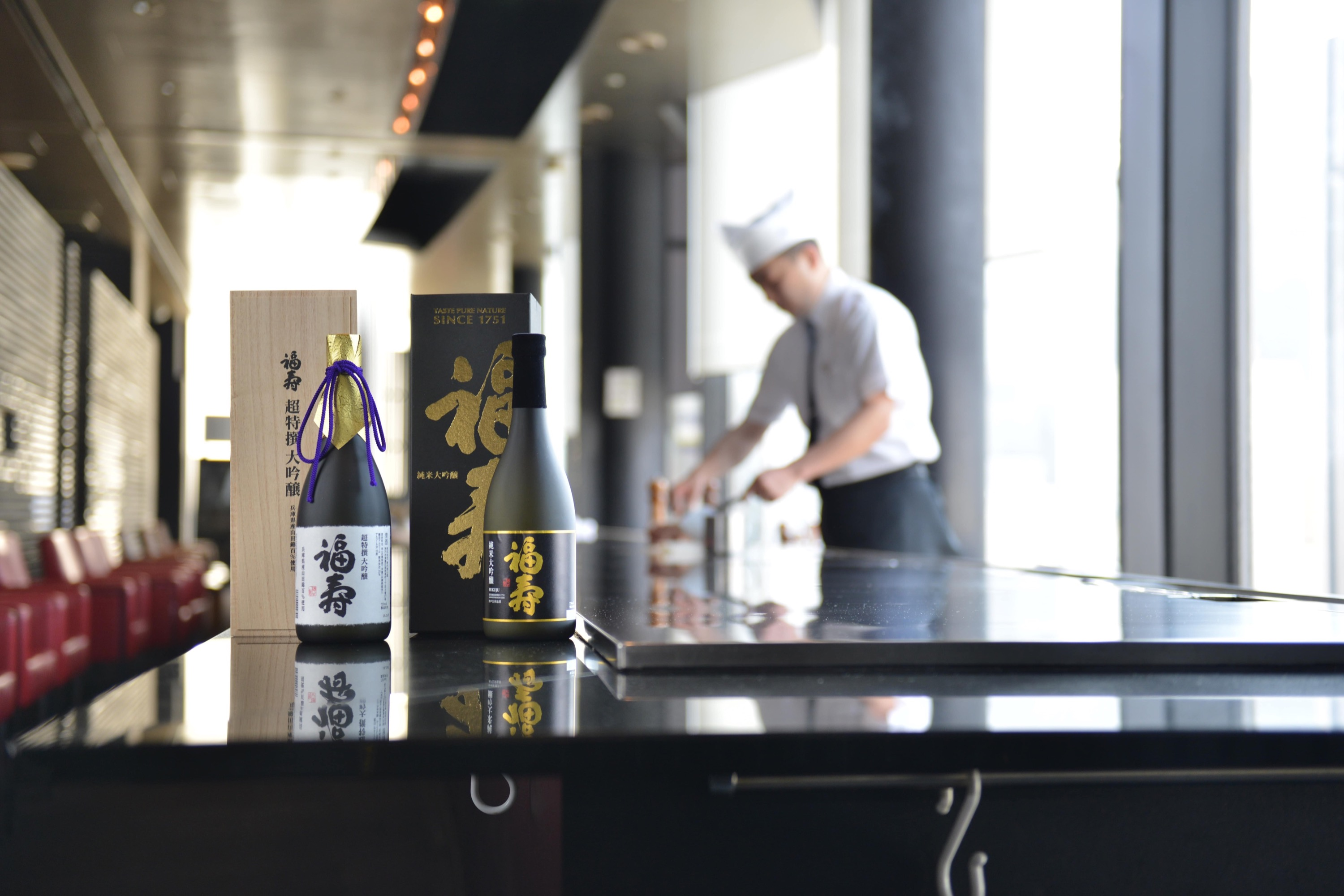 Bringing the great taste of the Misono's original teppanyaki Kobe beef steak to the gorgeous town of Ginza.